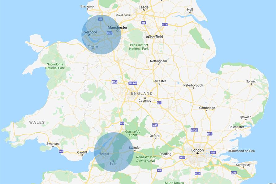 Carma Automotive areas covered